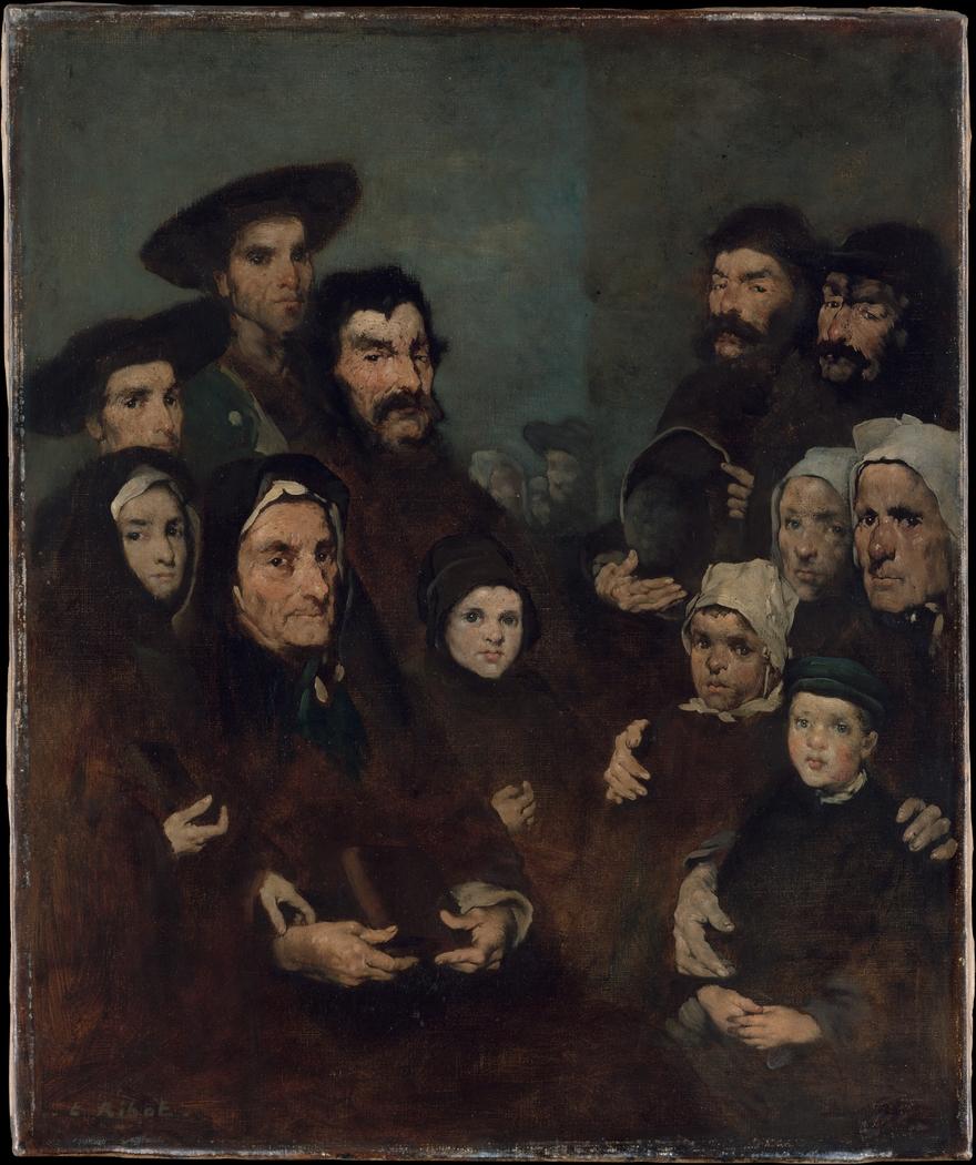 Breton Fishermen and Their Families