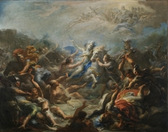 Camillia at War from Virgil's Aeneid