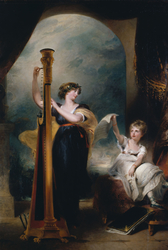 Caroline, Princess of Wales, and Princess Charlotte
