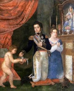 Casamento de Pedro e Leopoldina (alegoria)
