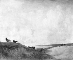 Cattle on the Dunes