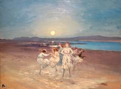 Children Dancing on the Strand