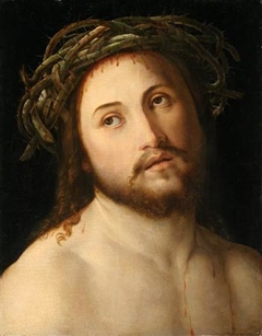 Christ in the crown of thorns.