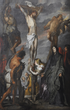 Christ's death on the cross at Gogotha