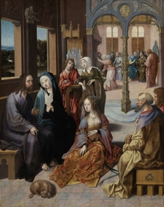 Christ's Second Visit to the House of Mary and Martha
