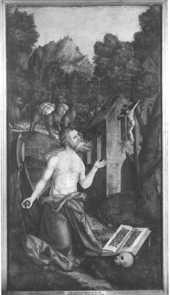 Christgartner Altar: Büßender hl. Hieronymus