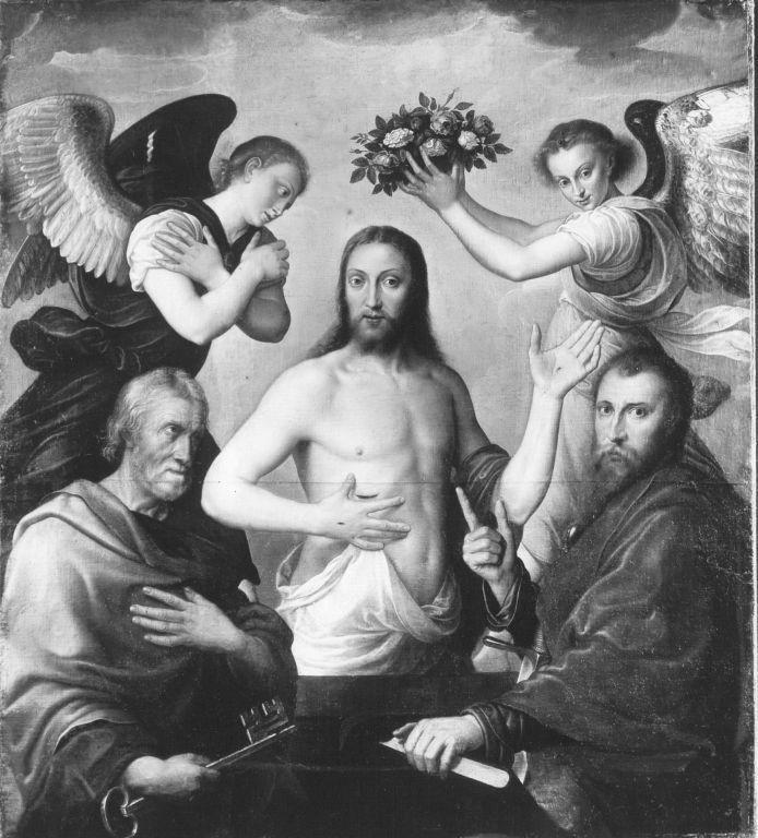 Christus zwischen den hll. Petrus und Paulus (Kopie nach)