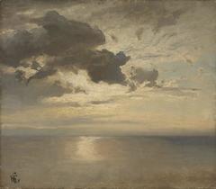 Cloud Study over the Sea