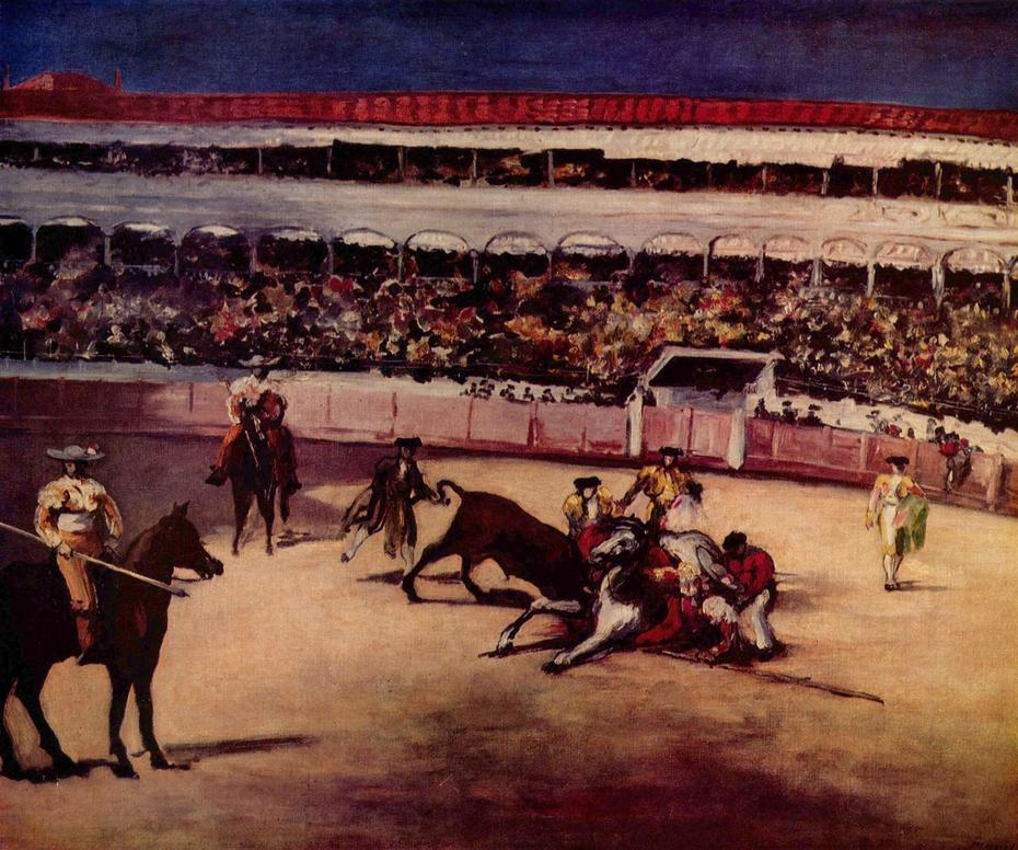 Combat de taureaux
