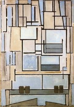 Composition No.VI, Composition 9 (Blue Façade)