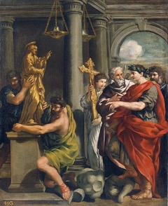 Constantine Ordering the Destruction of the Pagan Idols