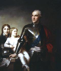 Count Stanislas Potocki and His Two Sons