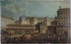 Démolition de la Bastille, le 17 juillet 1789 (P705)