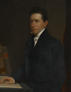 Denison Olmsted  (1791-1859), B. A. 1813, M. A.1816