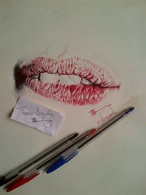 detailed lips