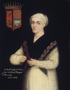 ''Doña Josefa de la Cotera y Calvo de la Puerta''