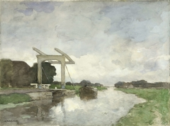 Drawbridge at Noorden