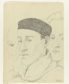 Drie zelfportretten: B-1-1, 26 februari