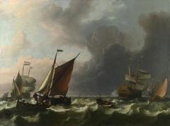 Dutch Men-of-war off Enkhuizen