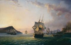 Entrée de la rade de Toulon