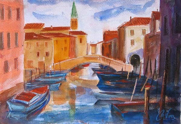 European views: Chioggia, Venice