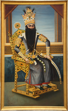 Fath Ali Shah (1797-1834), ruler of the Qadjar dynasty