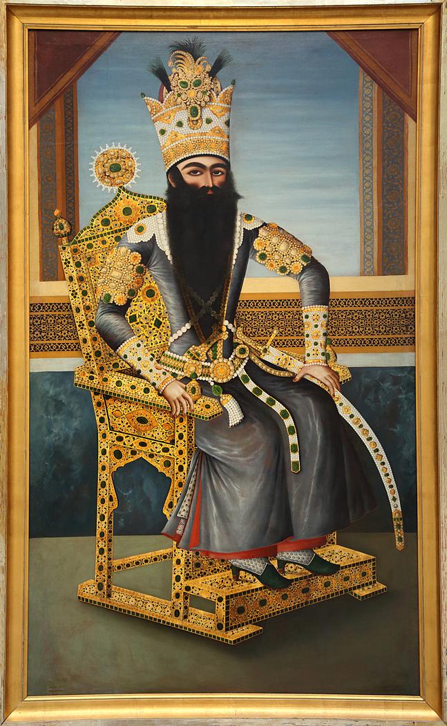 Fath Ali Shah (1797-1834), ruler of the Qadjar dynasty