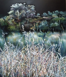 """Forest swords"" 140x120 cm"