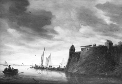 Fortification on a River