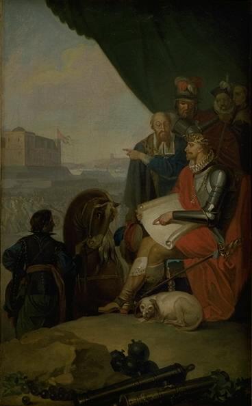 Frederik II Builds Kronborg Castle at Elsinore