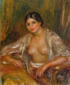 Gabrielle en costume oriental