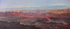 Halema'uma'u Lava Lake and Kilauea Caldera