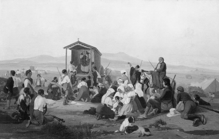Harvest Thanksgiving Mass in the Roman Campagna