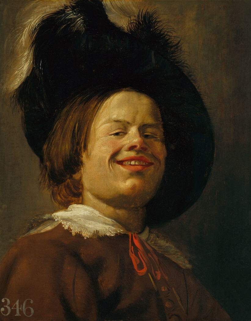 Head of a Laughing Youth