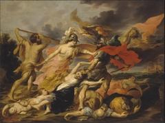 Hercules and Minerva Expelling Mars