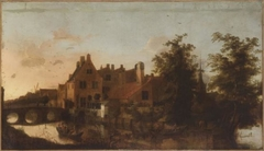 Houses beside a Canal