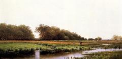 Hunter in the Meadows of Old Newburyport, Massachusetts