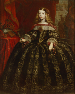 Infantin Margarita Teresa (1651-1673), Kaiserin, Bildnis in ganzer Figur