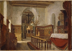 Interior from the Church at Voss
