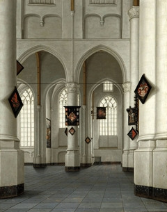 Interior of the St Laurenskerk in Rotterdam
