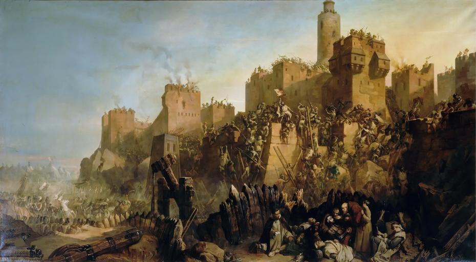 Jacques Molay prend Jérusalem 1299