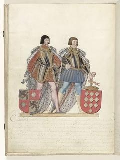 Jan van Luxemburg en Antoon van Lalaing