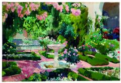 Jardin de la Maison Sorolla (1918-1919)