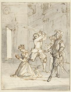 Joachim Carpitzo laat zijn vrouw onthoofden