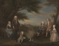 John and Elizabeth Jeffreys and Their Children