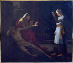 Joseph expliquant les songes de l'échanson et du panetier de Pharaon