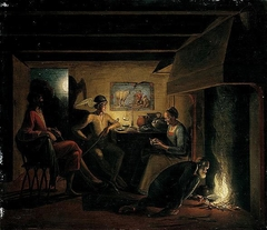 Jupiter and Mercury by Philemon and Baucis
