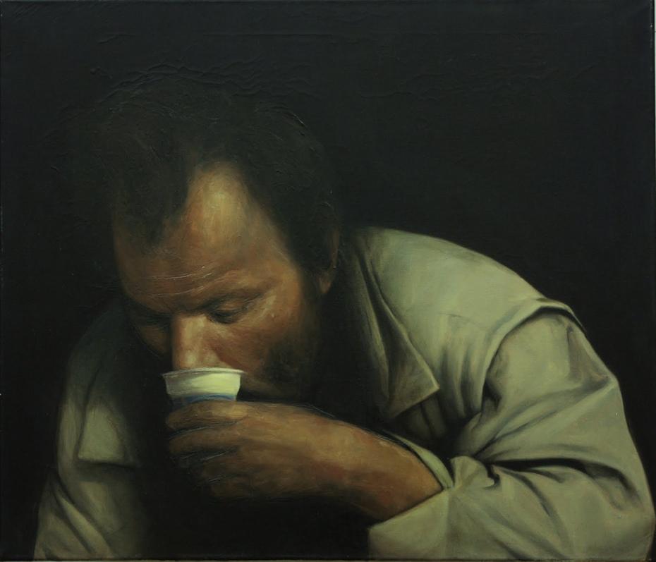 Kefír Ivó / Drinking kefir