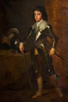 King Charles II (1630-1685), as a boy (after Van Dyck)