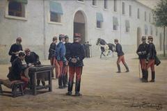 La revue des chevaux